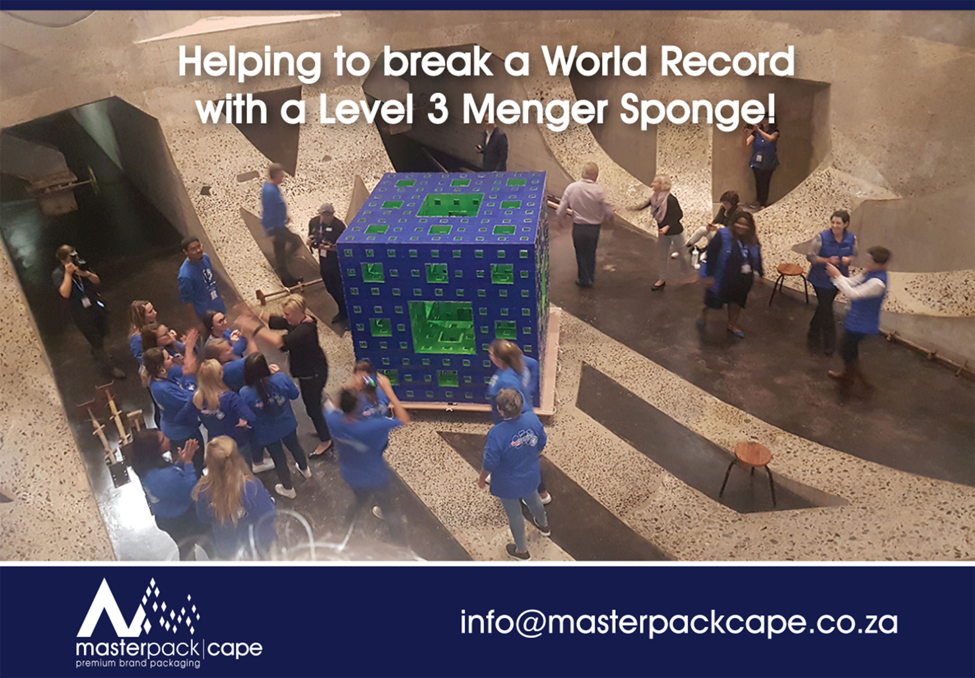 Helping to break a World Record!
